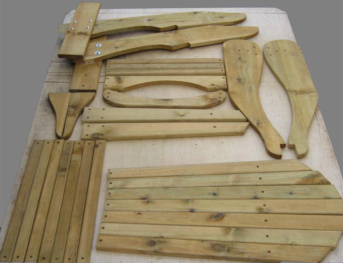 Wooden Footstool Kits Owl Stool Kits