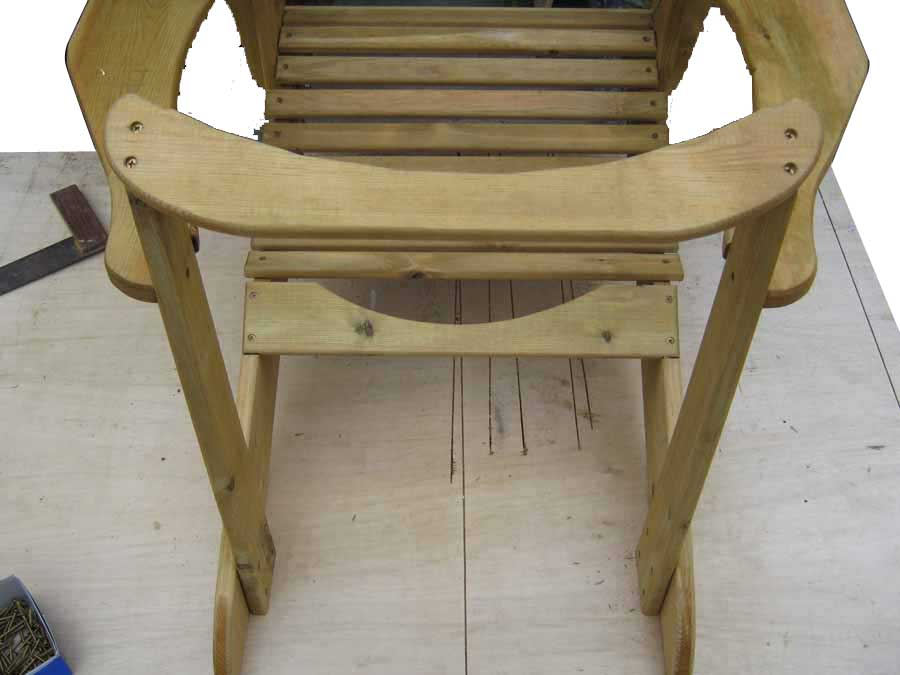 chair top support